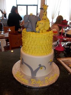 Yellow and Grey animal theme