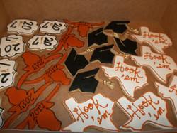 UT Graduation Cookies