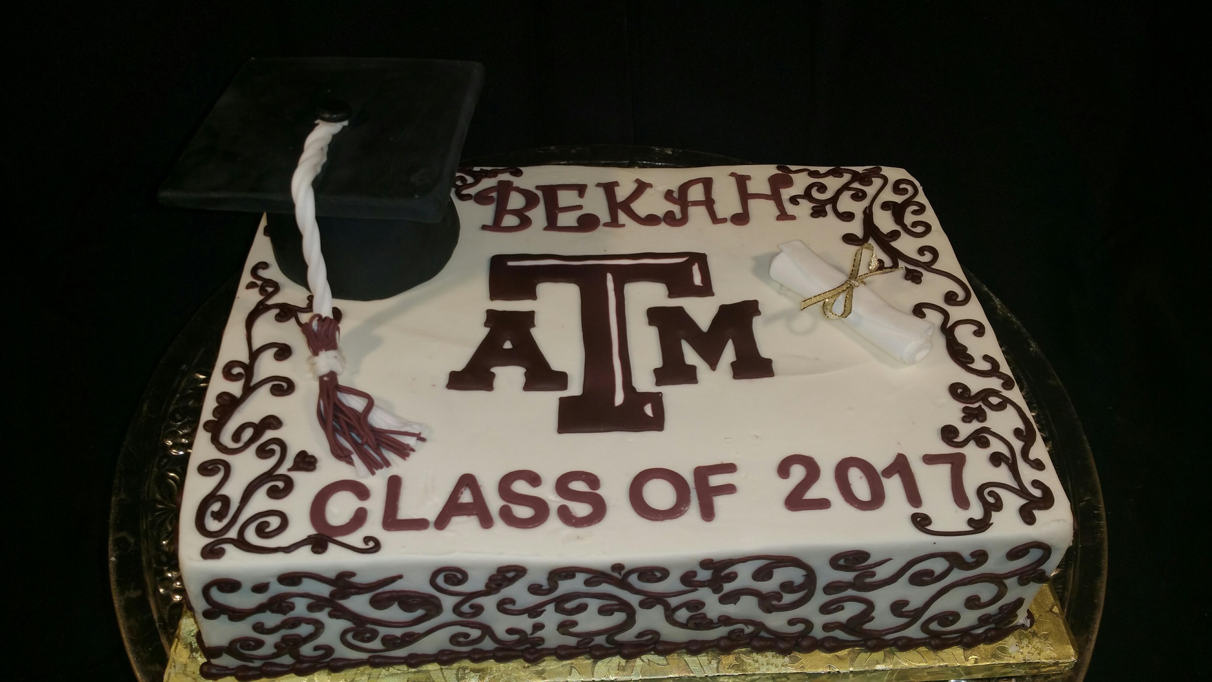 Graduation Sheet Cake 3
