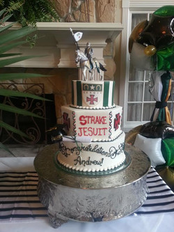 Grad cake, 3 tier