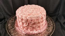 Rosettes Soft Pink