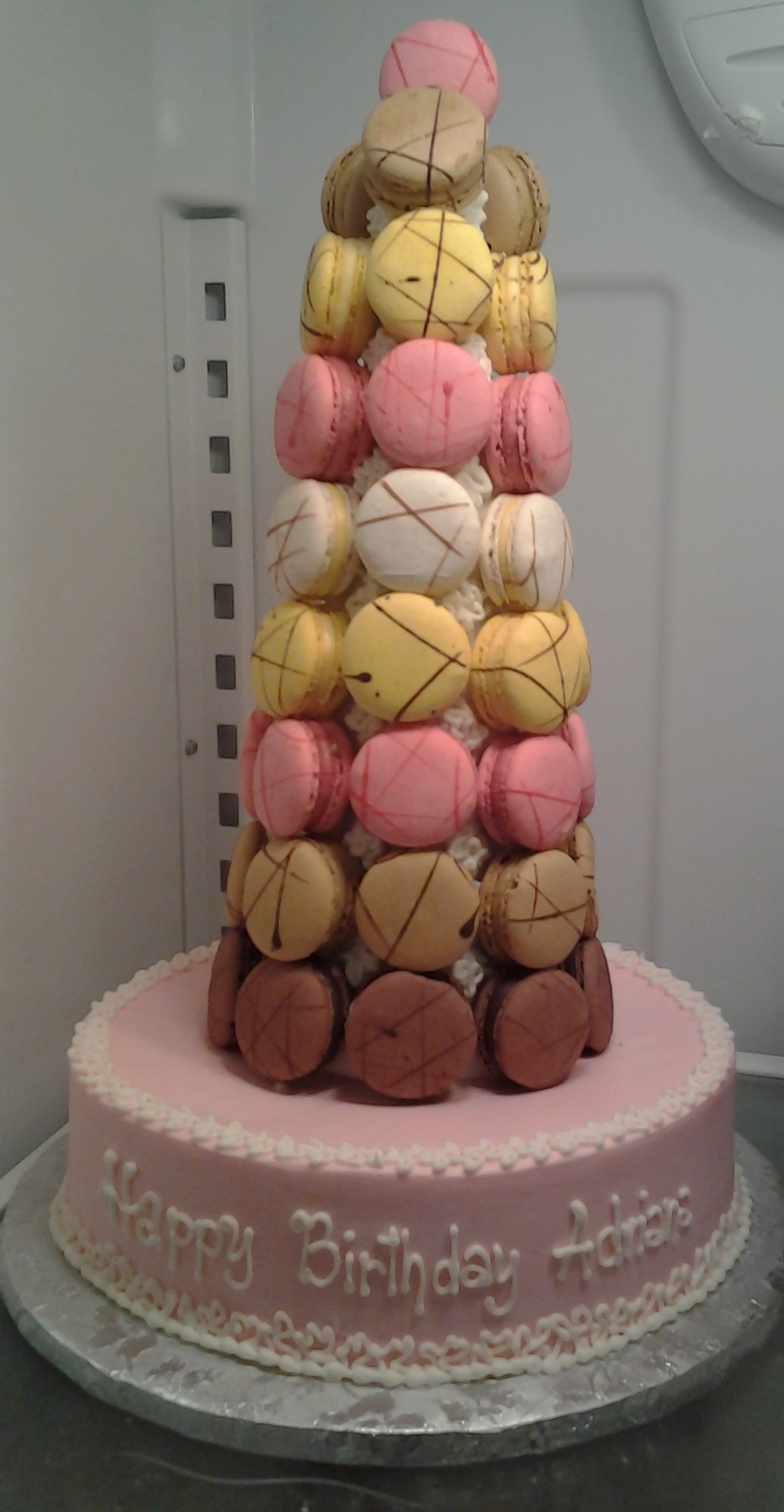 French Macaron tree Cake