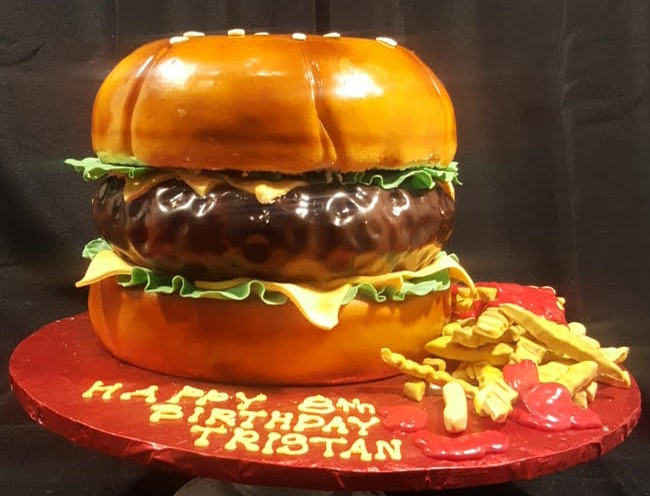 Hamburger Cake (2)