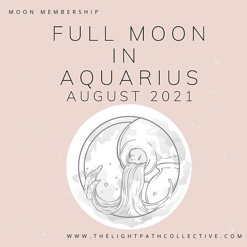 Full Moon in Aquarius In-Depth Guidance and Meditation
