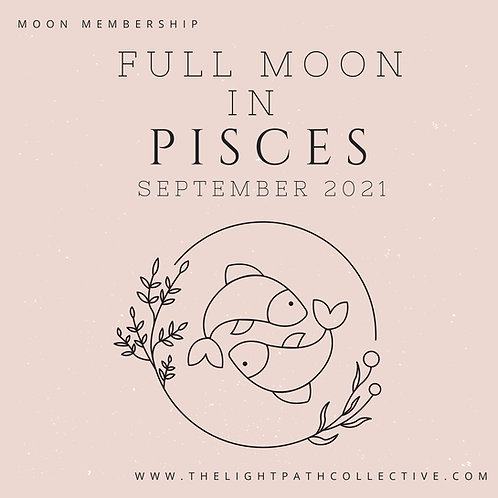 Full Moon in Pisces In-Depth Guidance and Meditation