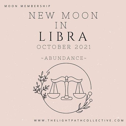 New Moon in Libra In-Depth Guidance andMeditation
