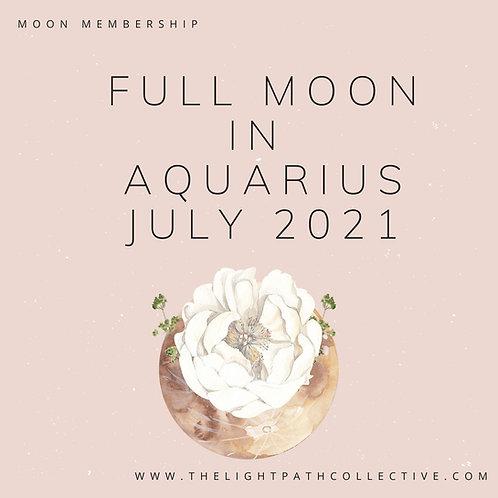 Full Moon in Aquarius In Depth reading and Meditation