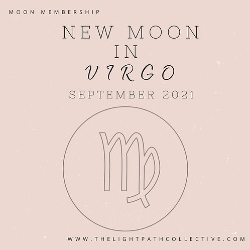 New Moon in Virgo In-Depth Guidance and Meditation