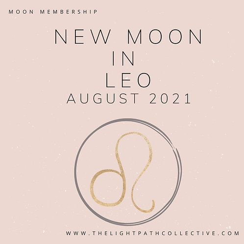 New Moon in Leo August 2021