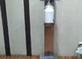 Foot Paddle Sanitizer Dispensing Machine
