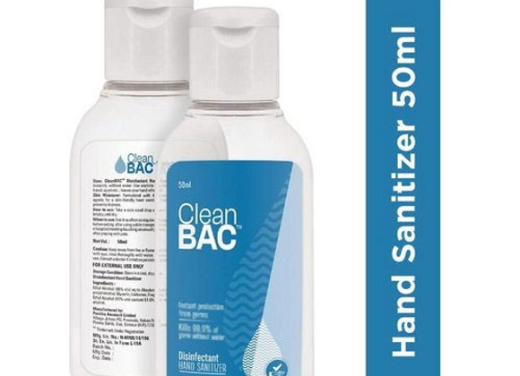 50 ML Alcohol Based Hand Sanitizer (Liquid)