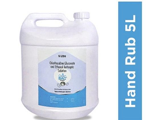 5000 ML Chlorhexidine Gluconate Hand Rub