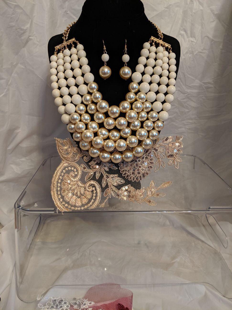Ivory / Pearl Breast Plate