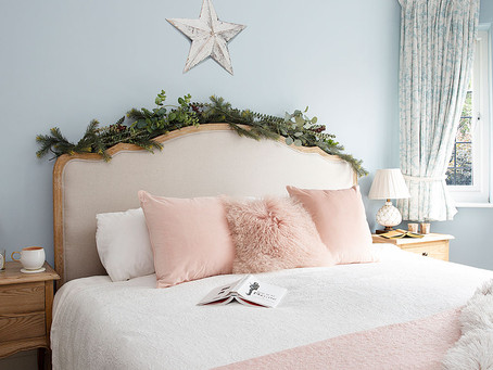 Styling your bedroom for Christmas