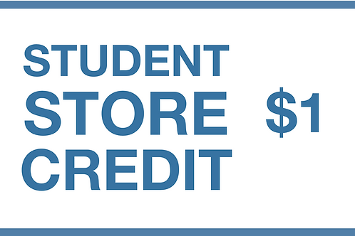 Student Store Credit ($1)