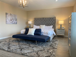 Stylish & Sophisticated Master Bedroom