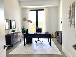 Spacious Home Office of Master Suite