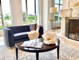 Luxury Living Room Vignette