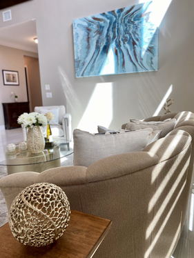 Sophisticated Living Room Furnishings &Decor