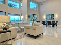 Modern Living Room, Vacant Staging