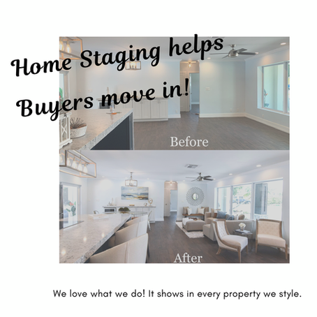 Home Staging Lets Your Buyers Move In!