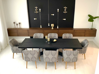 Glamarous & Sophisticated Dining Room