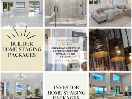 Builder & Investor Staging Packages!