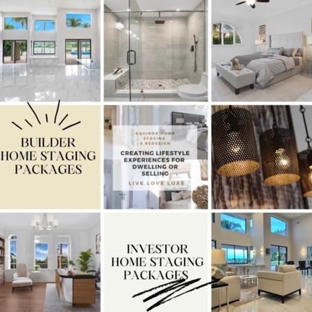 Builder & Investor Staging Packages!