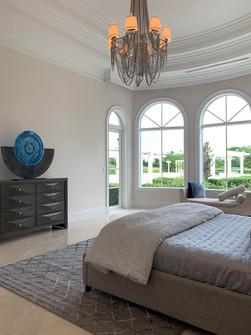 Master Bedroom - Glass Art