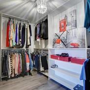 Walk In Master Bedroom Closet