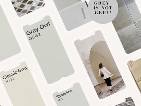 Grey is not Gray!
