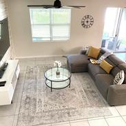 Tomoka Drive, Lake Worth FL. Living Room