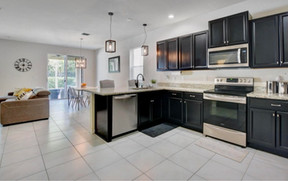Kitchen - Open Concept Living