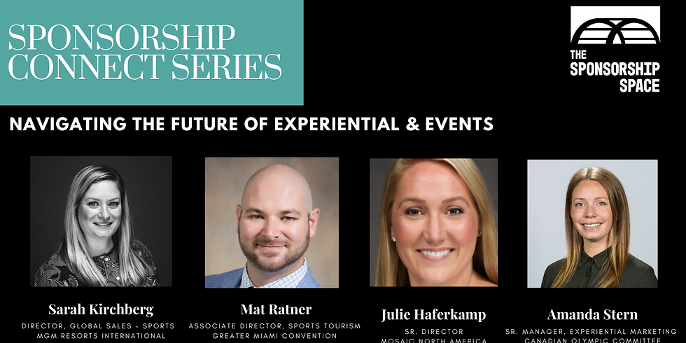 Sponsorship Connect - Navigating the Future of Experiential & Events
