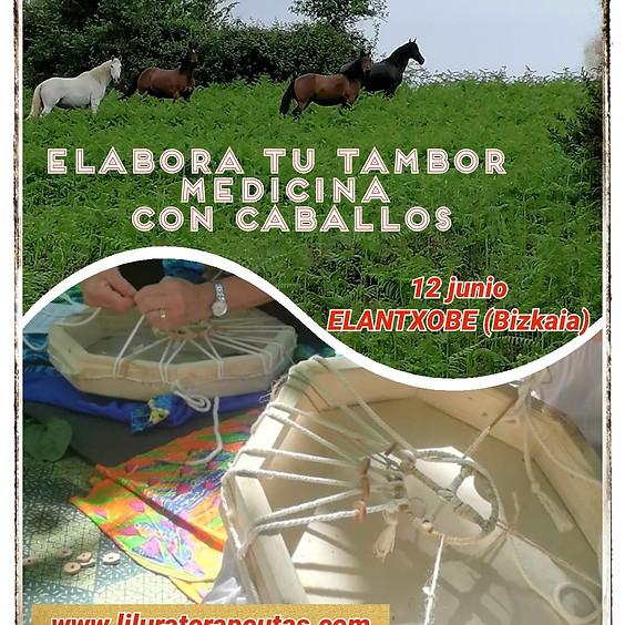 ELABORA TU TAMBOR CHAMÁNICO CON CABALLOS