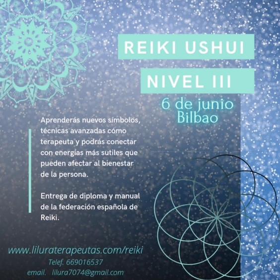 REIKI NIVEL III