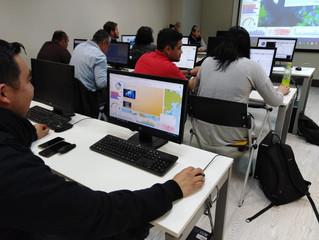 """Curso """"Flujo de Trabajo Completo para Procesamiento, Análisis y Presentación de Información Geospaci"""