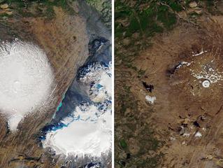 """Islandia conmemora su primer """"funeral"""" por un glaciar muerto"""