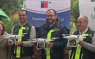 Con flota de 15 drones, CONAF refuerza fiscalización de talas ilegales y prevención de incendios