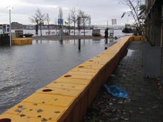 Boxbarrier, una barrera de defensa contra las inundaciones