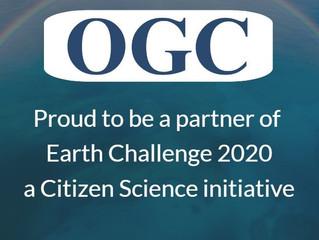 OGC se anuncia como socio oficial de Earth Challenge 2020