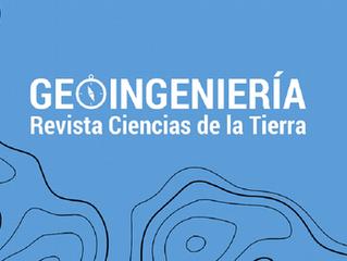 """Lanzamiento Revista Ciencias de la Tierra """"Geoingeniería"""" de la Universidad de Santiago de Chile USA"""