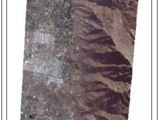 Alumnos USACH usan imágenes SPOT 7 para evidenciar construcciones en falla San Ramón