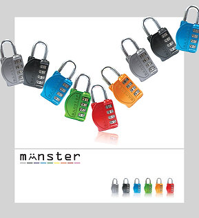 Monster Padlocks Gym Edition