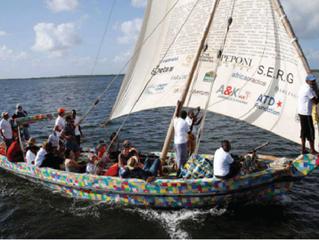 Flipflopi: un barco hecho con basura marina y sandalias recicladas