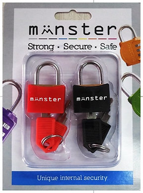 Monster Padlocks Travel Edition