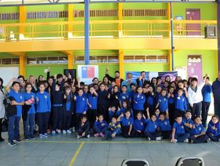 Comunidad Escolar se une en la lucha contra contaminación lumínica en Freirina