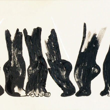 Dancer Feet In Black