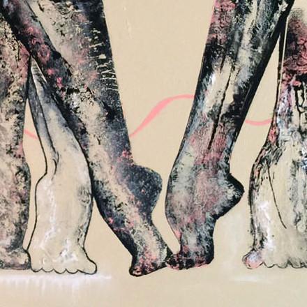 Dancer Feet In Pink