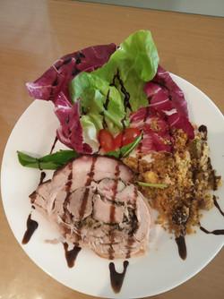 Salada de Porchetta